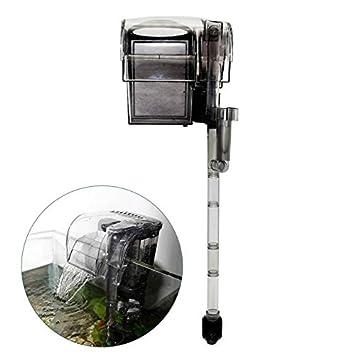 Filtro de Agua En Cascada para Acuario Pecera - Bomba de filtración HL-600 8W: Amazon.es: Productos para mascotas