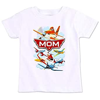 Disney Planes Mom Family Matching Birthday T-Shirt Medium
