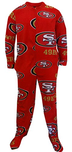 San Francisco 49ers - Logo All-Over Adult Union Suit - - Clothing Union San Francisco