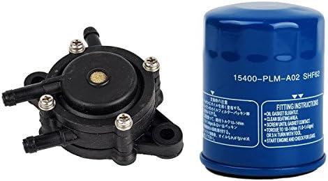 OxoxO Ölfilter 16700-z0j-003Kraftstoffpumpe ersetzen für Honda GX610GX620gx670GXV610gxv620gxv670Teil # 15400-plm-a02Hohe Qualität Tune Up Kits?