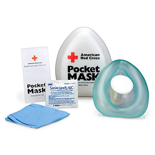 CPR Laerdal Pocket Mask, Plastic Case - Emergency Kit Trauma Kit First Aid Cabinet Refill ()