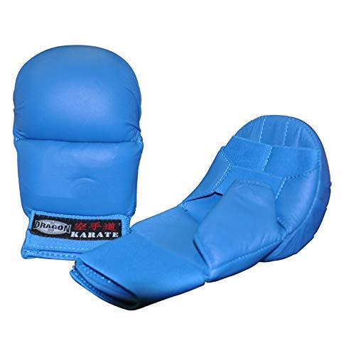 Dragon Do Karate Gloves High Support for Hands in Karate Training