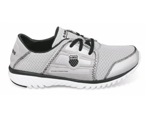 8bea334e33bbb K-Swiss Men's Blade-Light Recover Lace Shoe,Silver/Black/White,12.5M ...