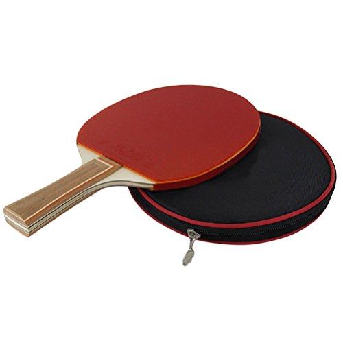 WINOMO Table Tennis Racket Bat Ping Pong Paddle with Bag Racket Case by WINOMO