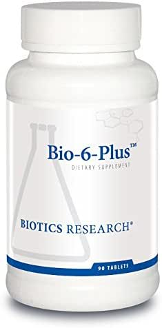 Biotics Research Bio-6-Plus™ – Digestive Support, Supports Pancreatic Function, 50,000 NF Units Amylase, 9,300 NF Units Lipase, 50,000 NF Units Protease, Pancreatic and Digestive Enzymes