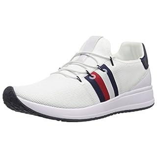 Tommy Hilfiger Women's RHENA Sneaker, White, 8