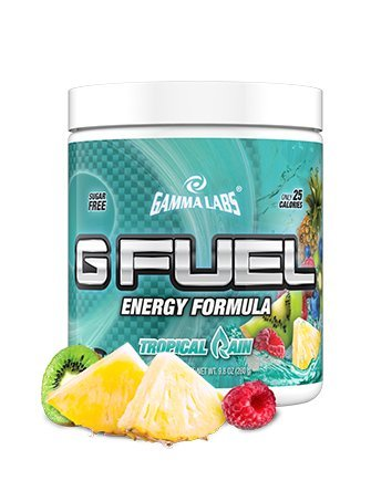 Gamma Labs G Fuel Tub Elite Energy and Endurance Formula, Tropical Rain, 9.8 Ounce