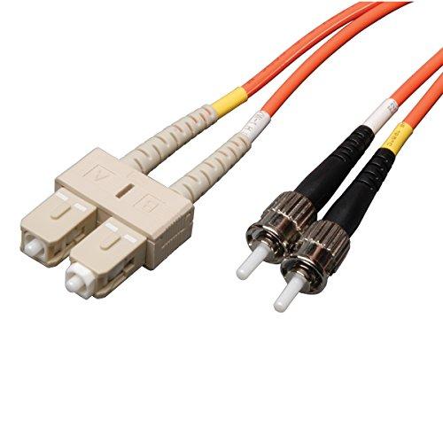 Tripp Lite Duplex Multimode 62.5/125 Fiber Patch Cable (SC/ST), 5M (16-ft.)(N304-05M)