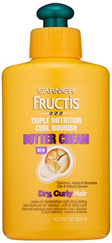 Garnier Hair Care Fructis Triple Nutrition Curl Moisture Leave-In Conditioner, 10.19 Fluid Ounce