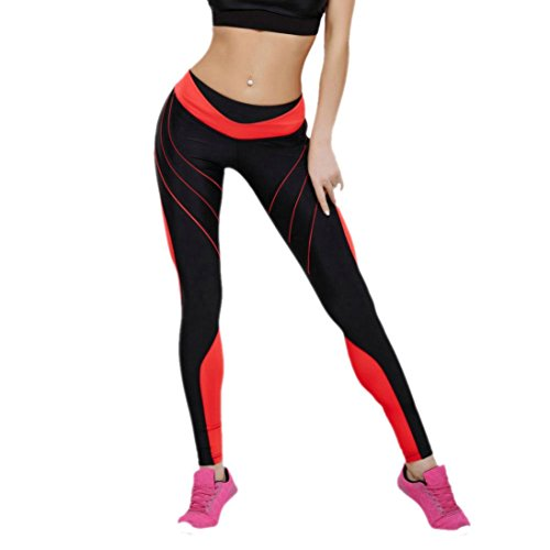 f15aa23f2b52b4 Pocciol Pants, Women's Colorful Printed You May Like Sports Yoga Workout  Gym Fitness Athletic Clothes