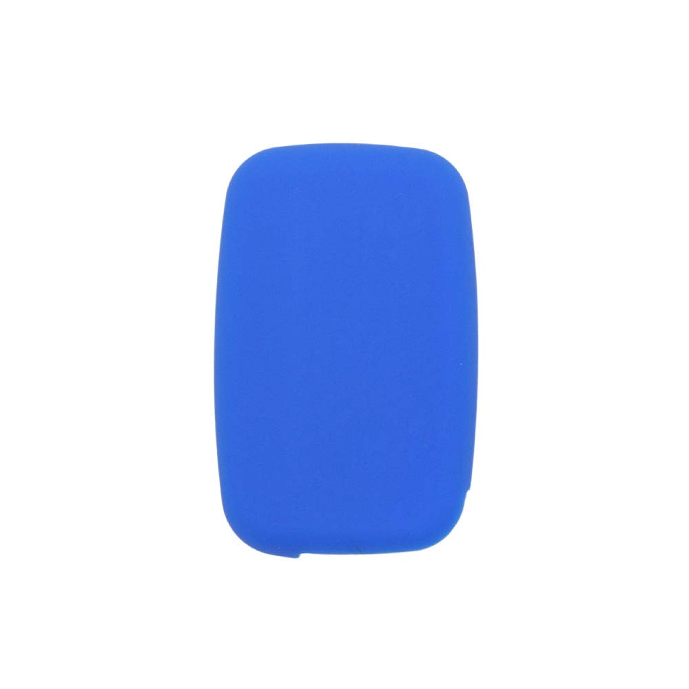 SEGADEN Silicone Cover Protector Case Skin Jacket fit for LAND ROVER LR4 Range Rover 5 Button Smart Remote Key Fob CV4982 Deep Purple
