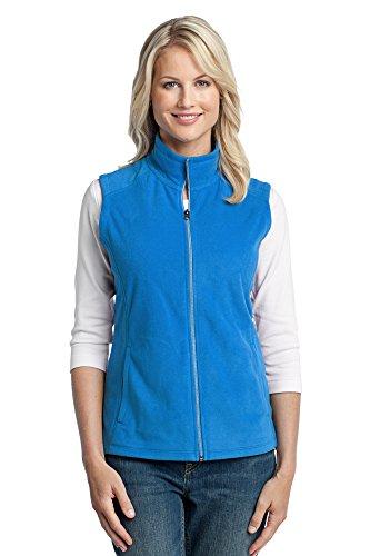 Port Authority Women's Microfleece Vest, Large, Light Royal
