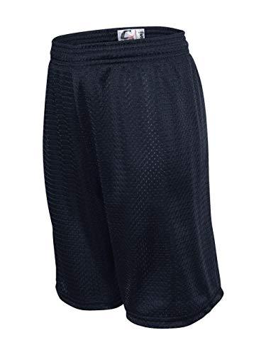 C2 Sport 5209 - Mesh Youth Shorts, Navy, Medium