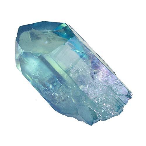 Aqua Aura Quartz Healing Crystal