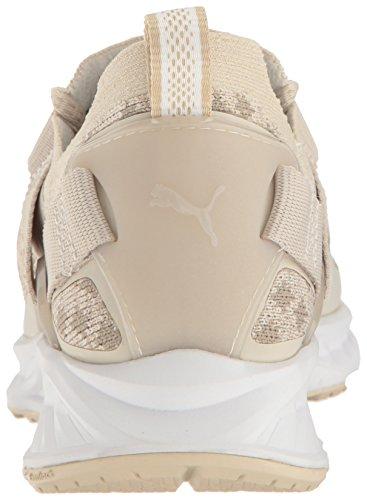 Lo Delle puma Pavimentazione Donne trainer D'avena Cross Kaki vintage Shoe Wns Bianco Evoknit Puma Ignite Farina nRfxwIE
