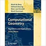 Computational Geometry: Algorithms And Applications