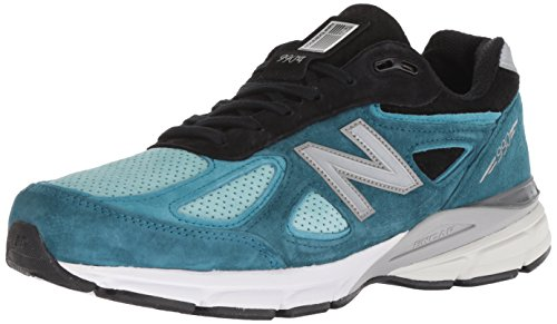 New Balance Men's 990v4, Blue, 9 D US