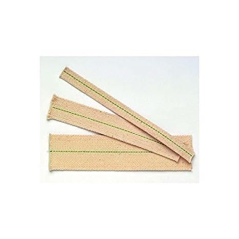 Lampendocht flach 12mm x 50 cm 100/%Baumwolle 155-19