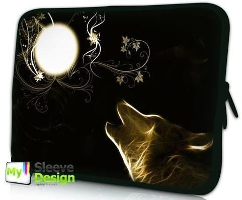 MySleeveDesign 10 Inch Notebook Sleeve Laptop Neoprene Soft Case Pouch Bag 10 / 10.1 / 10.2 Inch - SEVERAL DESIGNS & SIZES Available - New Moon