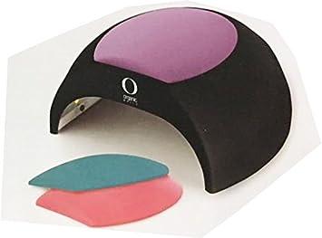 LED/UV LAMP ORGANIC NAILS 48 WTS available white or black (black)