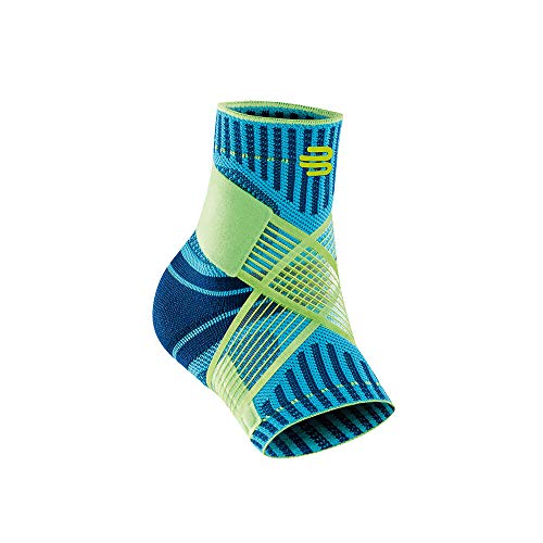 Bauerfeind Sports Ankle Support - Breathable Compression (Rivera, Medium/Left) (Best Rehab For Sprained Ankle)