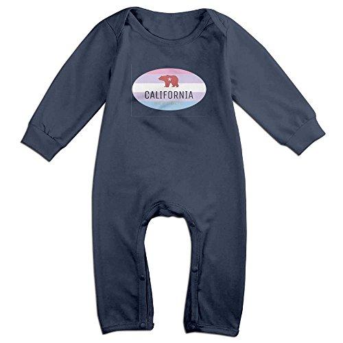 America California Long Sleeve Baby Onesies Boys Girls Baby Outfits Warm Best For Newborn Baby Darling