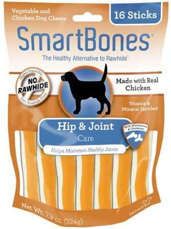 SmartBones Chicken Dog Chews Hip Joint 16 Sticks