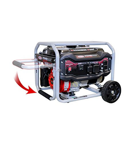 SIMPSON SPG3645 3,600-Watt Gasoline Powered Electric-Start Portable Generator