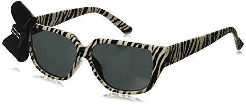 Zebra Print Nerd Glasses with Bow (Zebra Print Glasses)