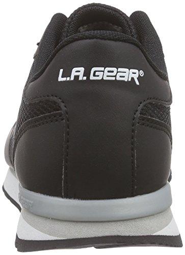 L.A. Gear Paradise, Women's Low-Top Sneakers Black - Schwarz (Black 06)