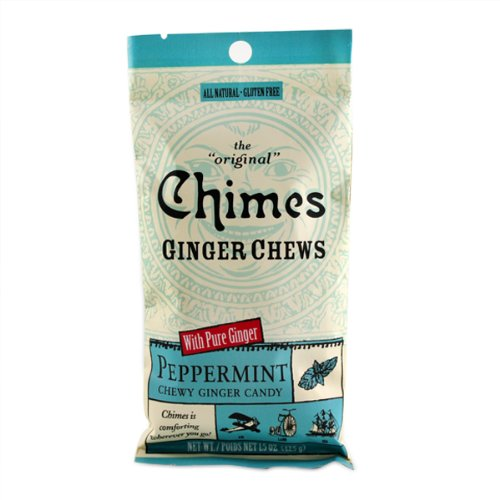 Peppermint Ginger Chews Chimes 1.5 oz Bag by Chimes (Image #1)