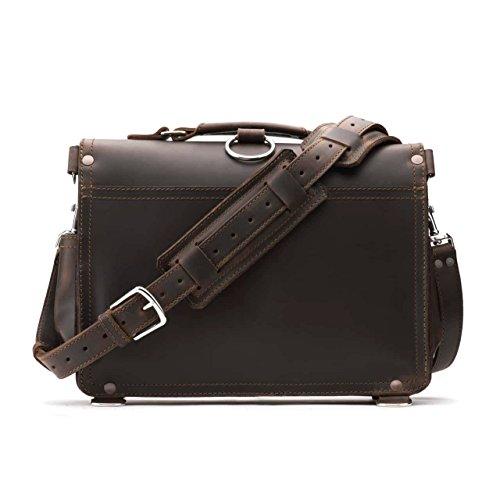 Saddleback Leather Co. Slim Full Grain Leather 15-inch Laptop Computer Bag Includes 100 Year Warranty by Saddleback Leather Co. (Image #1)