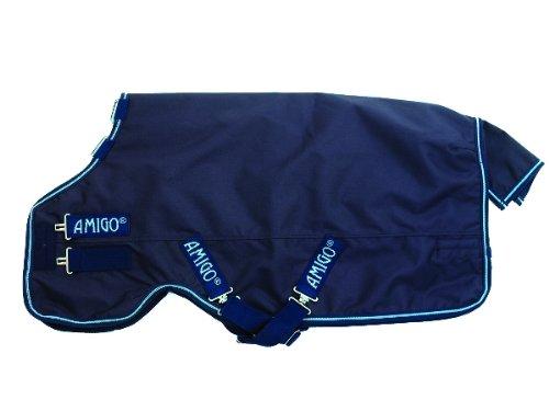 Horseware Amigo Bravo 12 Turnout - 100g - navy & electric blue