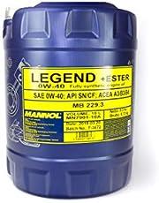 MANNOL Legend + Ester 0W-40 API SN/CF motorolie