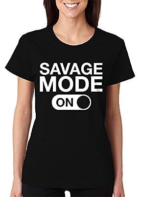 Savage Mode On Women's T-Shirt, SpiritForged Apparel