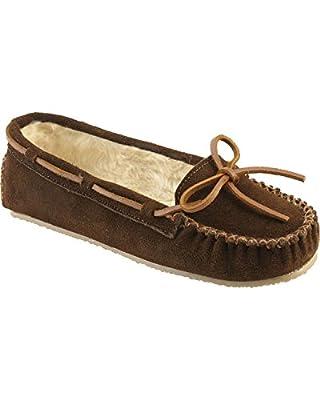 Minnetonka Women's Cally Lined Slipper Moccasins - 4017