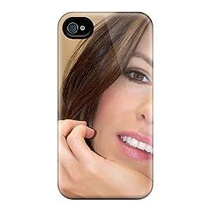 New Kate Beckinsale Smile Tpu Case Cover, Anti-scratch JebZn11066LYOHC Phone Case For Iphone 4/4s