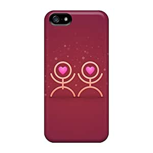 Sanp On Case Cover Protector For Iphone 5/5s (love Love)