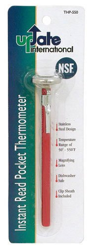 Update International THP 550 Pocket Thermometer