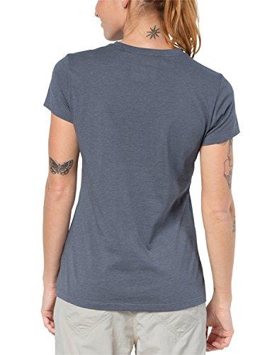 T Jack Wolfskin W Marca Gris Camiseta 4OtqA