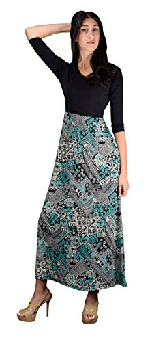Buy belted paisley dress - 4