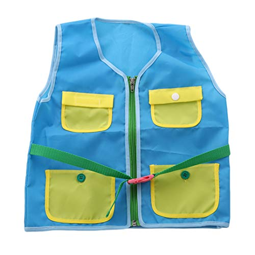 Game Waistcoat Toys Kit Vest Outdoor Props Cloth Educational Thick Early Blue Kindergarten Sport Tactical School Kids Joofff gqwfEXW