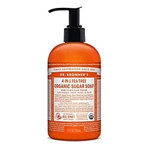 Dr Bronner's Tea Tree Organic Pump Soap &#82...
