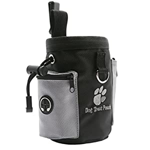 Korowa Pet Dog Treat Pouch Dog Training Treat Belly Bags Detachable Doggie Pet Feed Pocket Puppy Snack Waist Bag This… Click on image for further info.