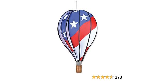 Amazon Com Premier Kites Hot Air Balloon 22 In Patriotic Small Garden Outdoor