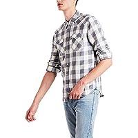Camisa Jeans Levis Barstow Western Masculina Xadrez