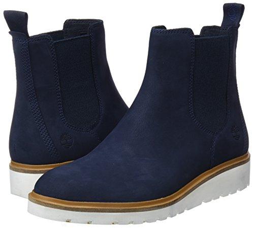 Blue L42 Timberland Eclipse Boots Nubuck Chukka Street Women''s Total dark Ellis qqvOX