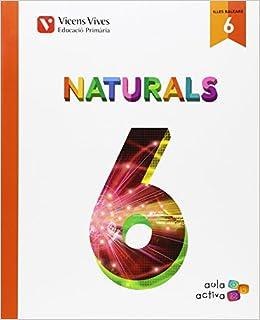 Naturals 6 Primària (Spanish) Paperback – April 8, 2015