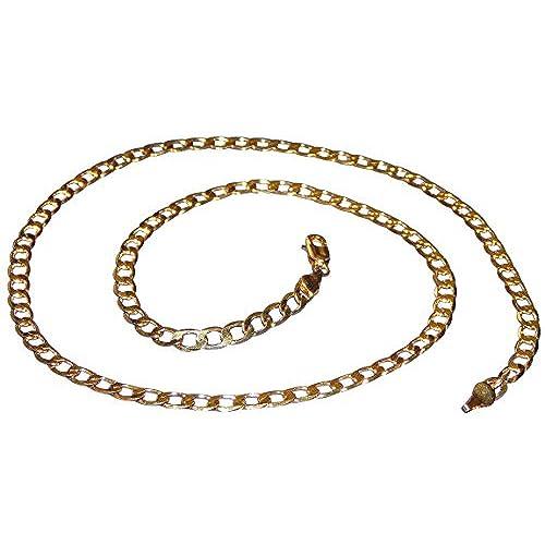217ca99d82b8 En venta hanessa Massive Collar de hombre de oro joyas para hombres chapado  en oro hip