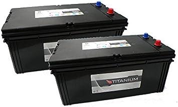 G/én/érateur CMF70027 Camion Bateau 12V 2x 200Ah Batterie de D/émarrage